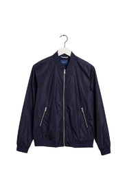 AIRY NYLON BOMBER - EVENING BLUE