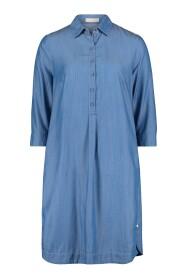 1143 3270 Hemd kleed in luchtig jeansstof