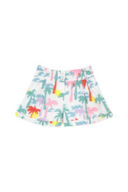 Multicolor Palms Shorts