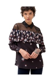 Blouse with Floral Pattern Fracomina - F120W15029W004B9
