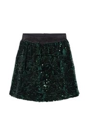 Skirt sequin embellished