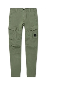 Fitted Lens Pocket Cargo Pants