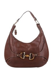 Horsebit Amalfi Leather Hobo Bag