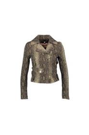 Jacket python print