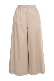 ELASTIC PANTS WIDE LEG