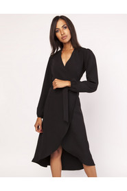 Sukienka asymetryczna kopertowa SUK160