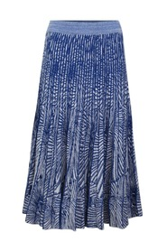 Cyrilla Skirt - Blue Tiger Shell
