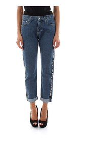 CALVIN KLEIN JEANS J20J211798 - 061 MID RISE JEANS Women DENIM MEDIUM BLUE
