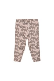 Petit by Sofie Schnoor - Leggings w. Frill, Leopard - Cameo Rose