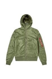 Hooded MA-1 Jacket