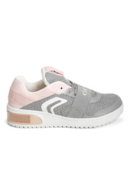 Grå/Rosa Geox J Xled Bn 360 Sneakers