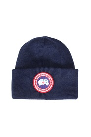 Wool hat with logo