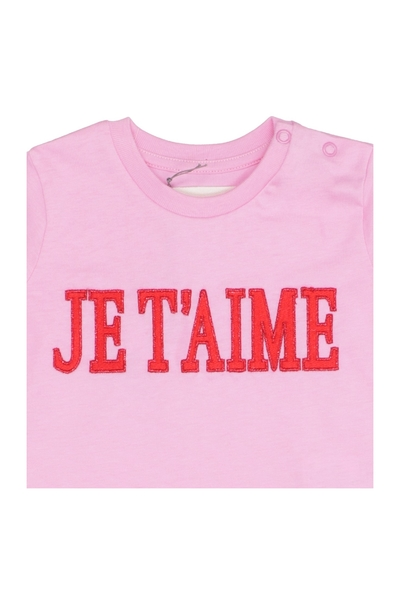 Knock Off Pink T-shirt Alberta Ferretti T-shirts à manches courtes rPBBR