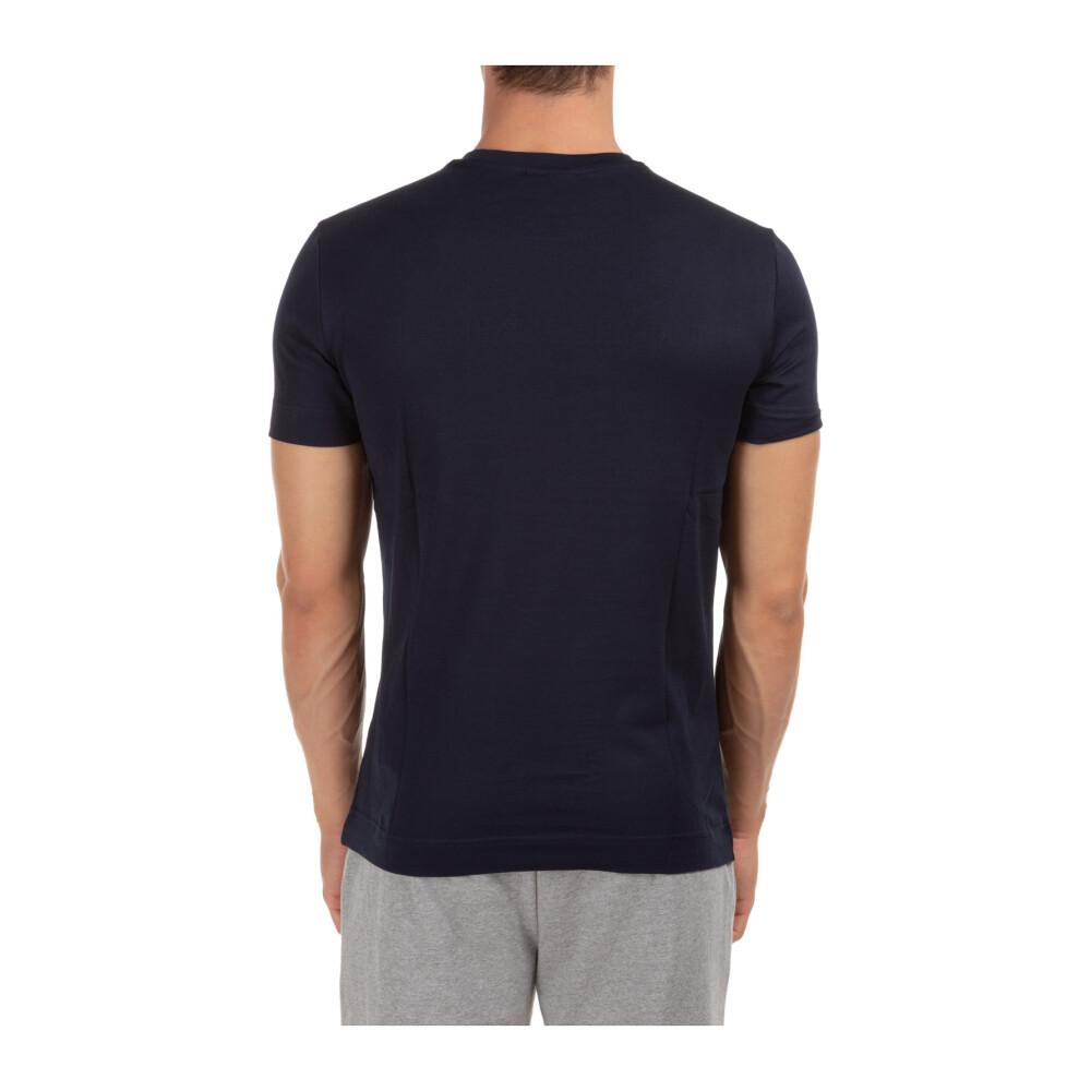 Blue Heren short sleeve t-shirt crew neckline jumper   Emporio ArHereni   Shirts   Herenkleding