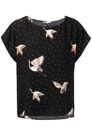 T-shirt with Japanese Print