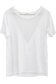 Ragdoll LA Vintage Mesh Tee Optic White