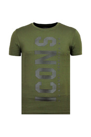 ICONS Vertical - Party T shirt Heren