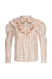 Clementine patterned top