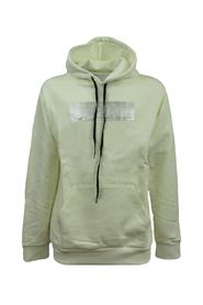Sweatshirt with silver front band