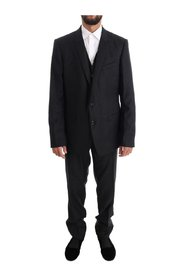 Wool GOLD Slim Fit 3 Piece Suit