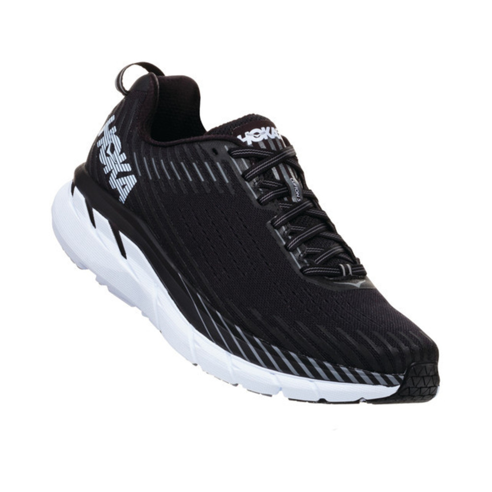 Hoka Clifton 5 Joggesko Herre Black/White