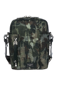 men's nylon cross-body messenger shoulder bag