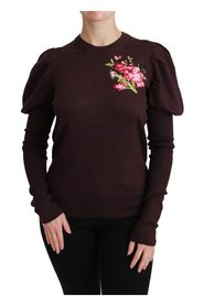 Blomster Pullover Sweater