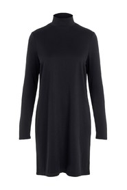 T-NECK LS DRESS