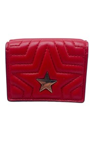 Coin purse with star detail