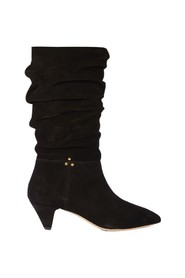 Sandie 50 suede leather boots