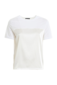 SILK AND COTTON T-SHIRT