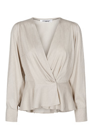 Justin wrap blouse