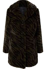 Chandi coat faux fur