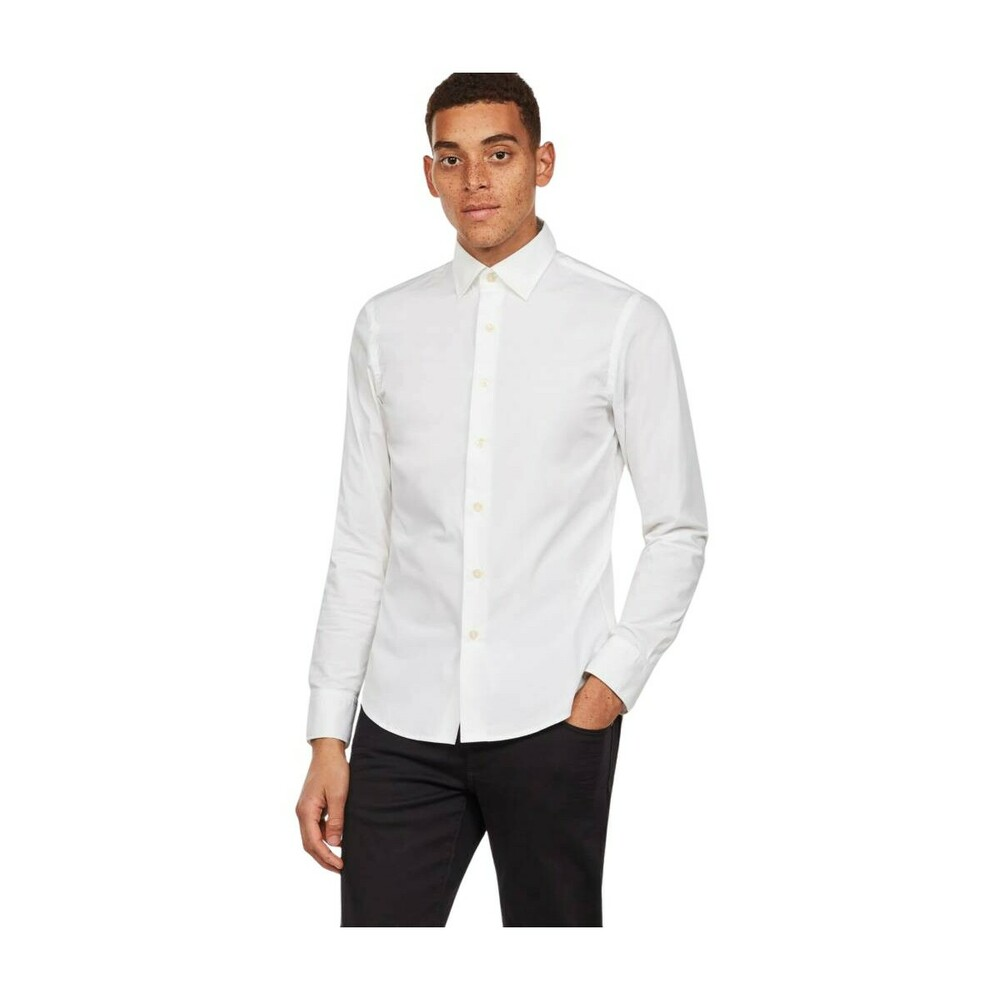 Casual White star Overhemden Super Slim Core ShirtG 92EWDHI