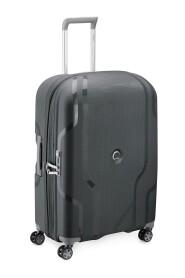 Clavel Hard Mellomstor Utvidbar Koffert Med 4 Hjul 70 cm