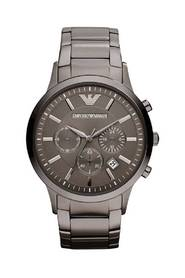 Classic Chronograph Stainless Steel Gunmetal Watch