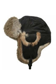 Leather Lue Hat