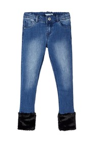 Skinny fit jeans power stretch cropped
