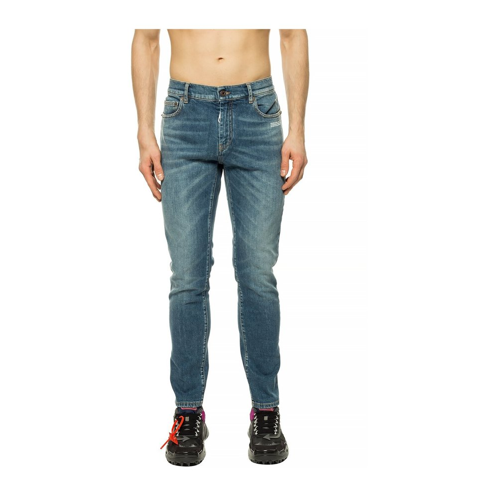 Off White BLUE jeans Off White