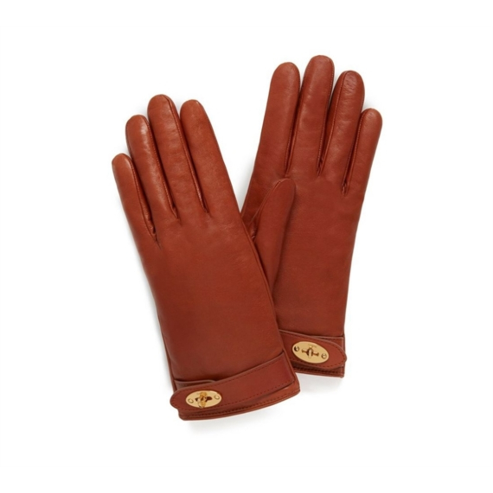 Mulberry Darley Gloves Smooth Nappa