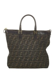 Pre-owned Zucca Canvas Satchel