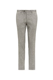 Rodney Linen Trouser - 80 BROWN, 46