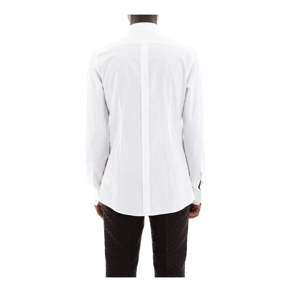 White tuxedo shirt | Dolce & Gabbana | Koszule - Najnowsza zniżka eoB9g