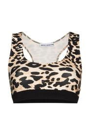 Top Milano in Jersey Animalier