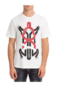 T-shirt with Frog Graphic