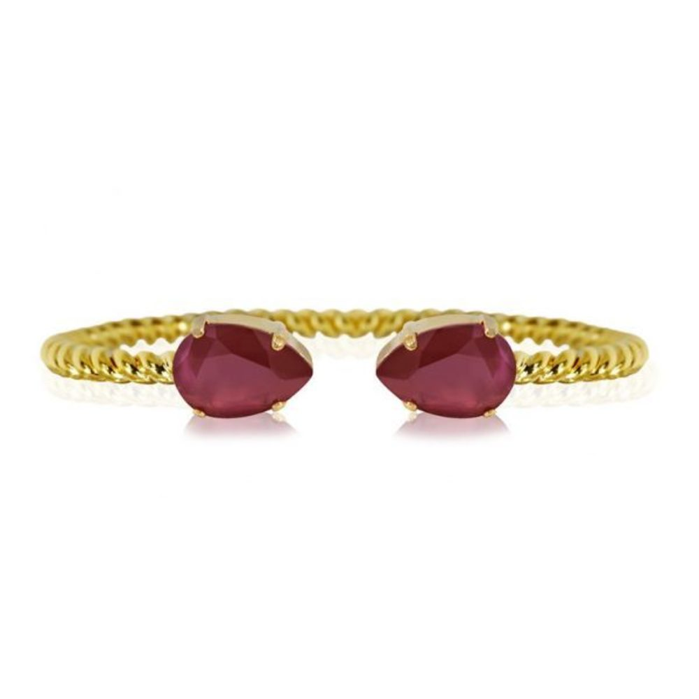 Caroline Svedbom Mini Drop Bracelet Dark red