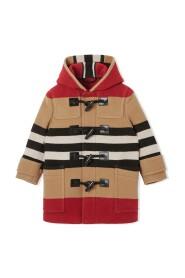 Icon Stripe Duffle Coat