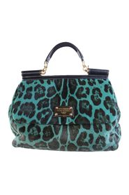 Sicily Pony Hair Leopard Bag