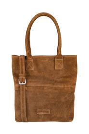 Crossbody Large Waxed Suede