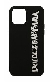Rubber iPhone 12 Pro Max Cover With Logo